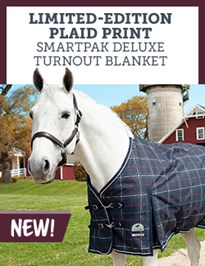 Limited Edition Plaid Print SmartPak Deluxe Turnout Blanket