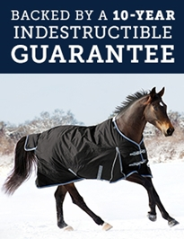 Backed by a 10-year indestructible guarantee