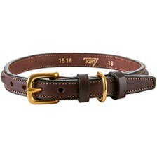 Tory Leather Deluxe Line Raised Collar