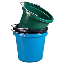 Fortiflex Flatback Bucket - Five Gallon