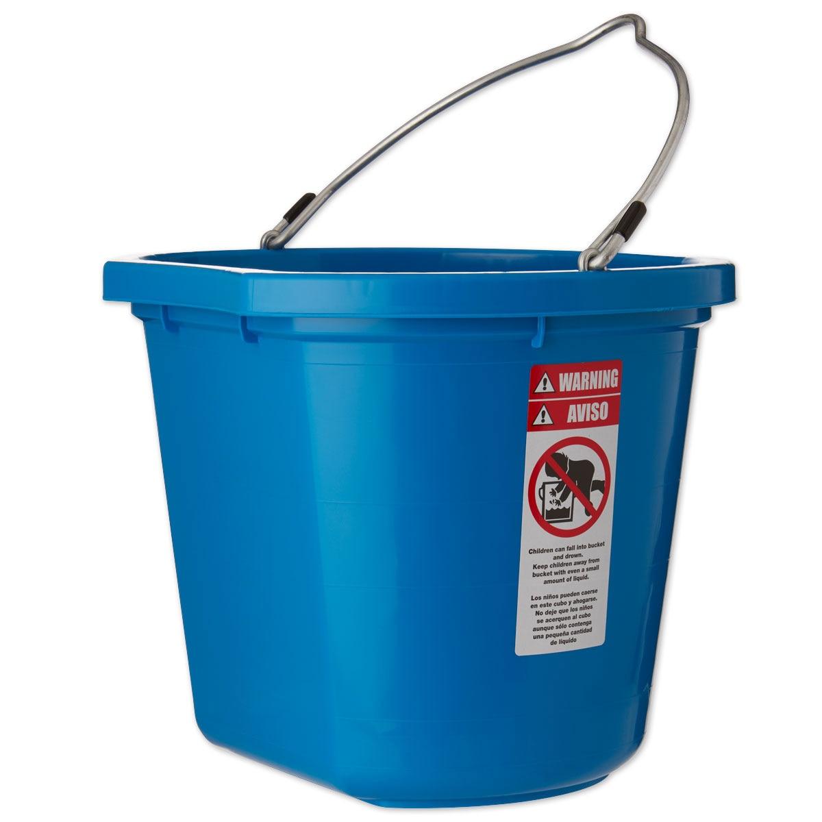 Fortiflex Flat-Back Bucket 5 Gallon Green