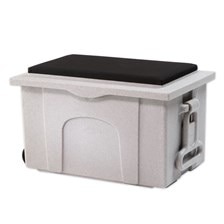 Burlingham Deluxe Trunk with Padded Seat