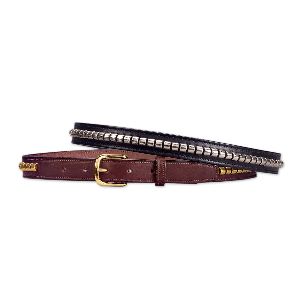 Tory Leather Clincher Belt