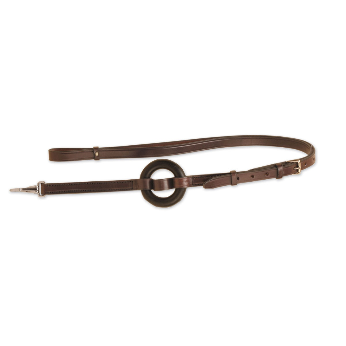 Tough-1 Leather Elastic Side Reins