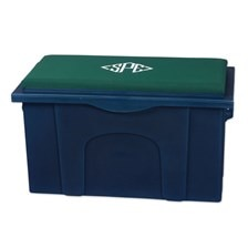 Burlingham Pony Sport Trunk with Padded Seat