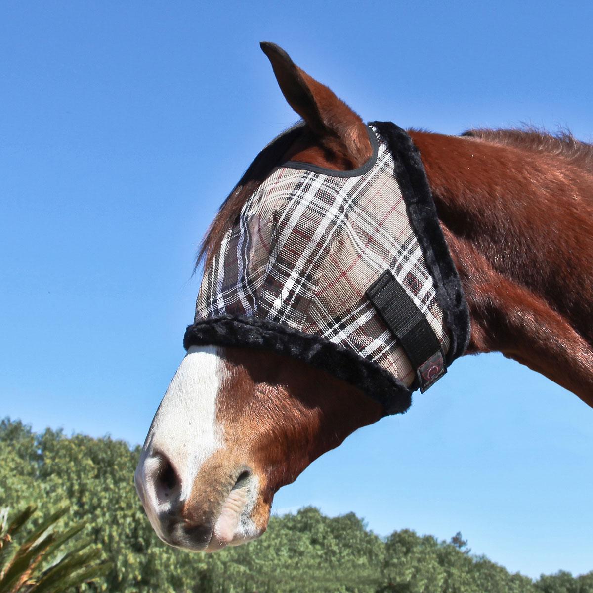 Kensington Fly Mask with Fleece Trim and Soft Ears