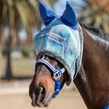 Kensington Fleece Fly Mask with Ears Made Exclusively For SmartPak