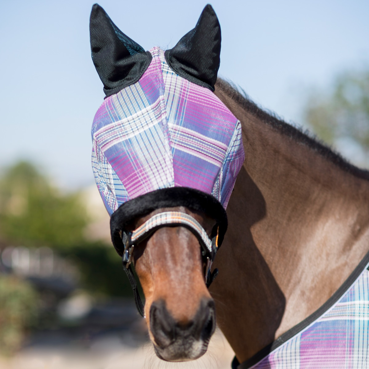 Kensington Fleece Fly Mask with Ears