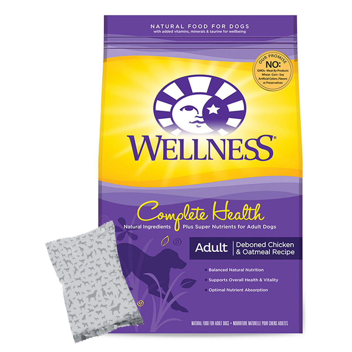 Wellness Complete Health® Adult Deboned Chicken & Oatmeal (formerly Wellness Super5Mix® Complete Health Chicken Recipe)