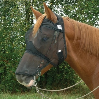 Crusader Fly Mask - Quiet Ride - Long Without Ears