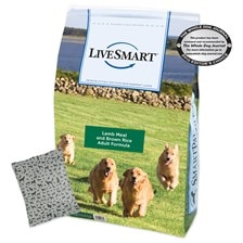 LiveSmart™ Lamb Meal and Brown Rice Adult Dog Formula