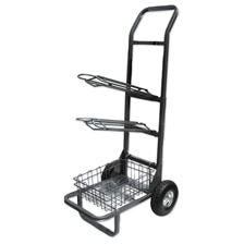 Two Wheel Saddle Rack Cart
