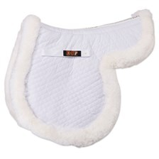 Equine Comfort Products Sheepskin Contour Pad