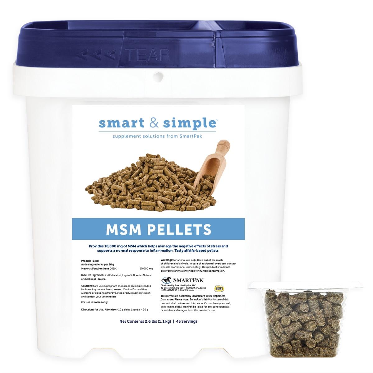 Smart & Simple™ MSM Pellets (formerly MSM Pellets by SmartPak)