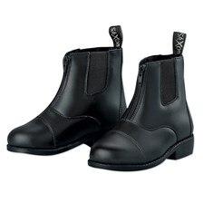 EquiLeather Zip Paddock Boots - Kids