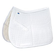 Mattes Correction Quilted Square Pad with Pockets for Shims- Dressage