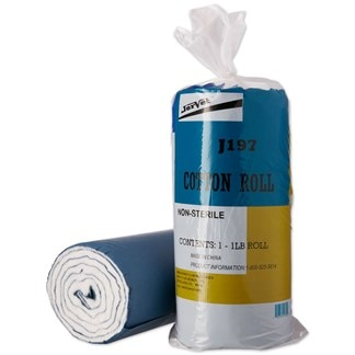 Blue Backed Basic Cotton Roll