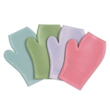 Rubber Grooming Mitts