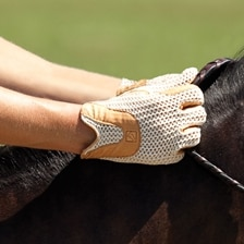 SSG Lycrochet Horseshoe Back Glove
