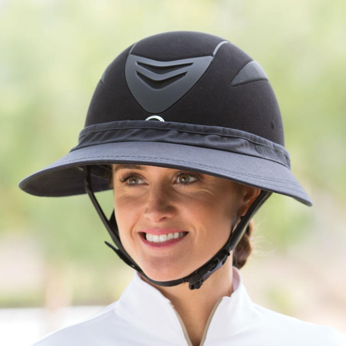 Equestrian Rider Visor Horse Track Visor
