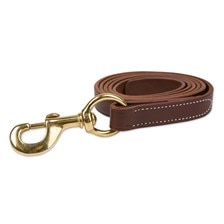 SmartPak Leather Lead w/ Solid Brass Snap
