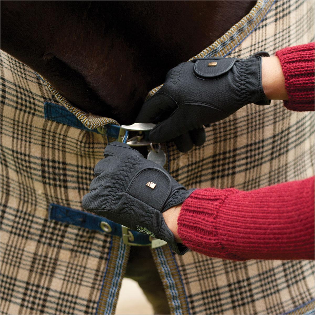 Gloves Navy 6.5 Roeckl Roeck-Grip Winter Winter Chester