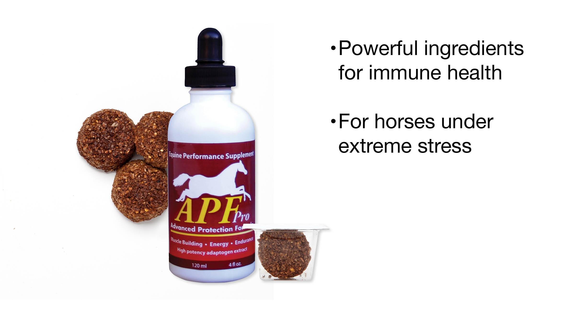120 Ml Bottle Auburn Laboratories Apf Pro Equine Business & Industrial Animal Health & Veterinary
