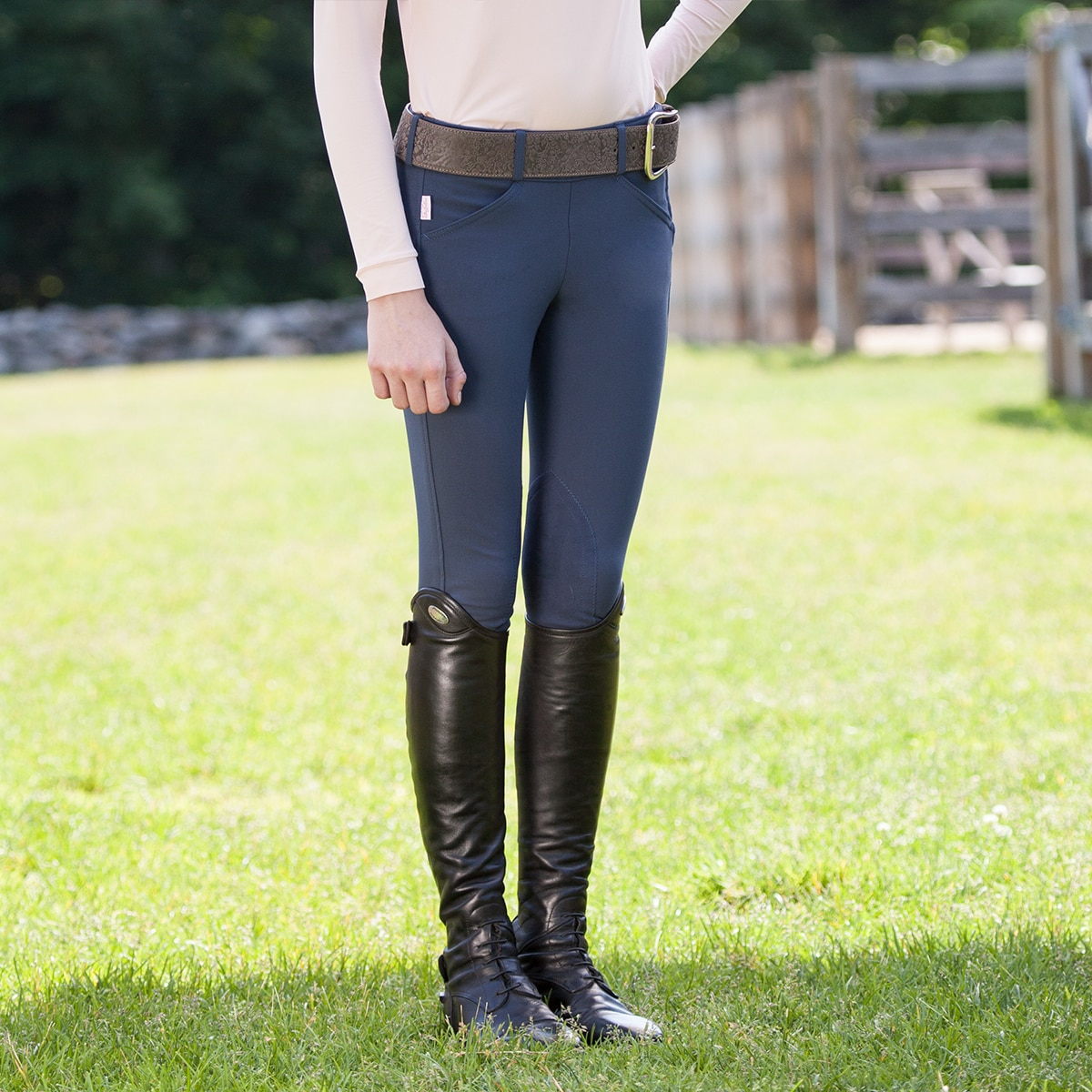 The Tailored Sportsman Girl's Trophy Hunter Side Zip Breech