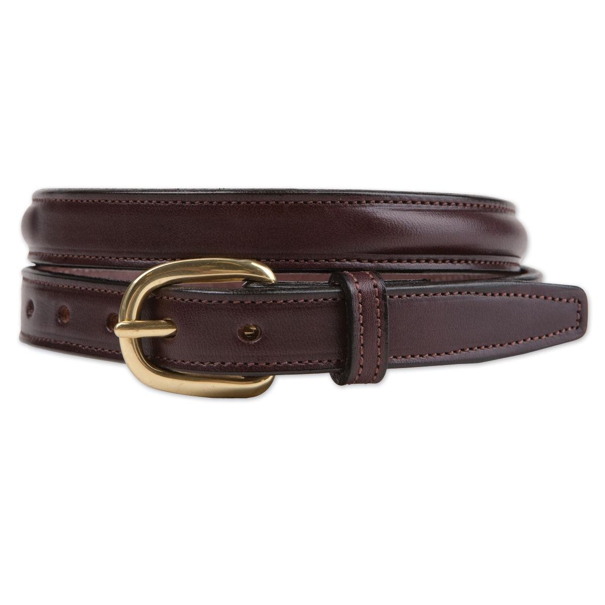 Tory Leather Plain Raised Belt