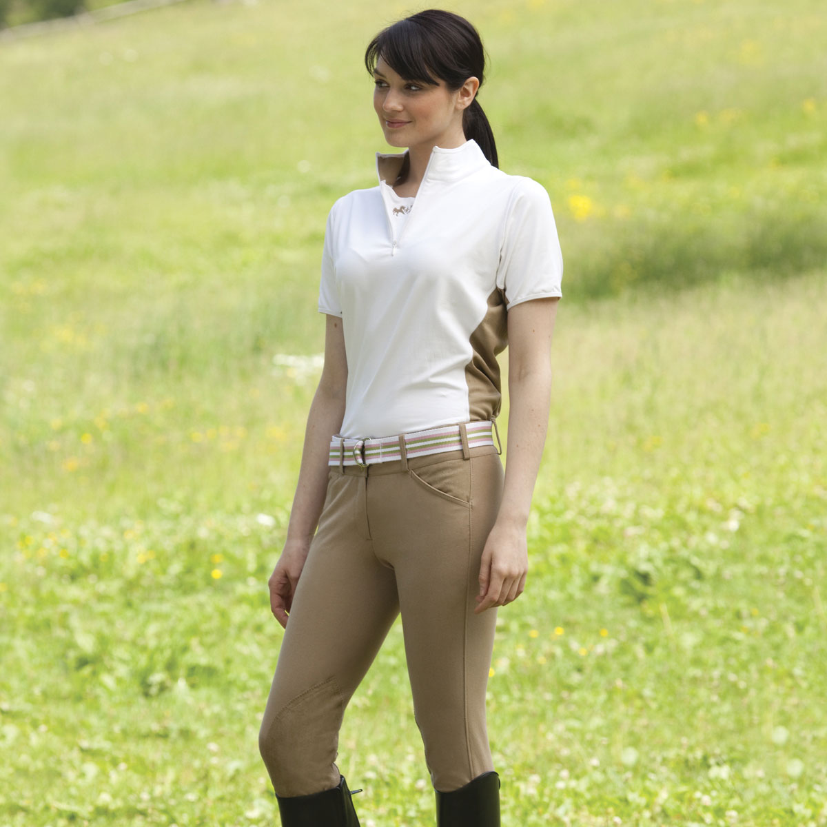 Equine Couture Sportif Schooling Breeches