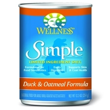 Wellness Simple Food Solutions Canned Dog Formulas