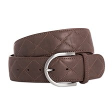 """The Tailored Sportsman Quilted """"C"""" Belt - Clearance!"""