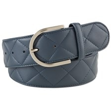 """The Tailored Sportsman Quilted """"C"""" Belt"""