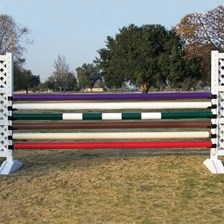 Burlingham Sports Perfect Jump Poles with Two Pairs of Free Metal Jump Cups