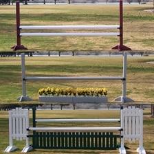 Burlingham Sports Starter Jump Course