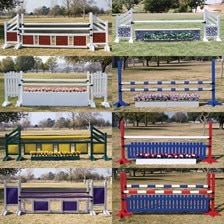 Burlingham Sports Grande Jump Course