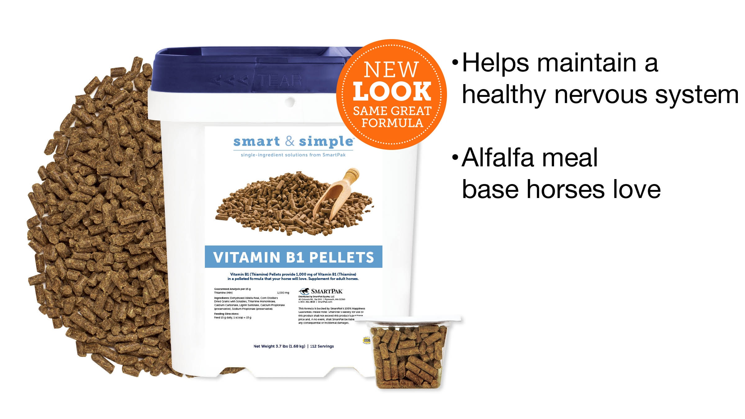 Smart & Simple™ Vitamin B1 Pellets