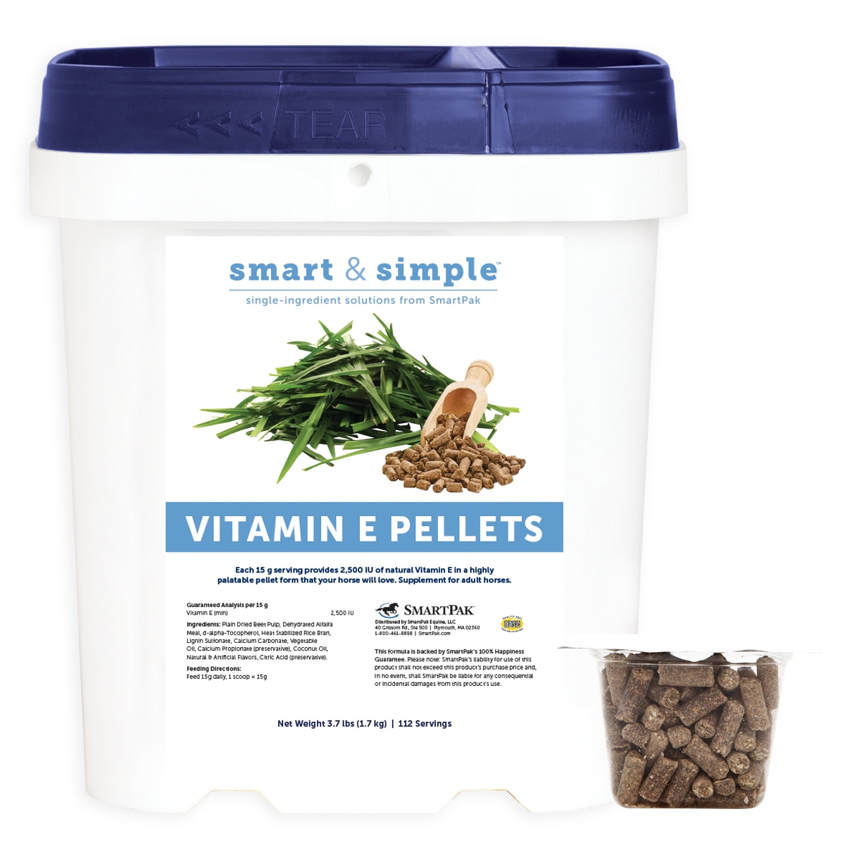Smart & Simple™ Vitamin E Pellets (formerly Vitamin E Pellets by SmartPak)