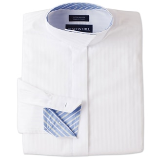 Beacon Hill Wrap Collar Kids Show Shirt by Essex Classics