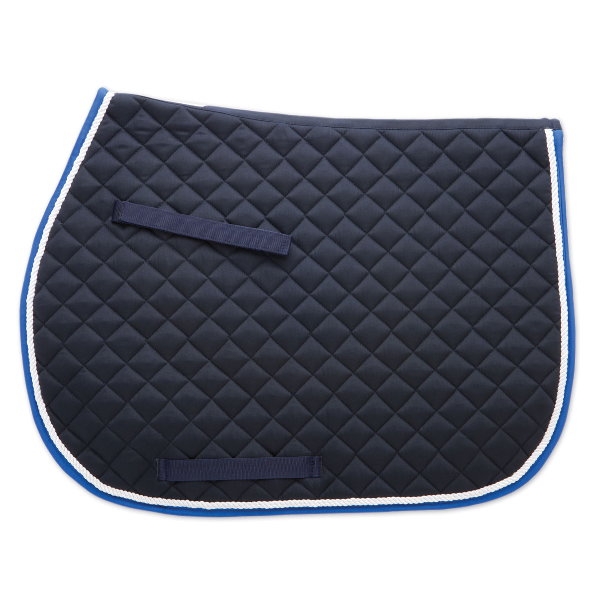 Horse Saddle Pads With Piping 6 Colors