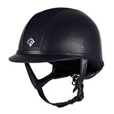 Charles Owen AYR8 Leather Look Helmet - Clearance!