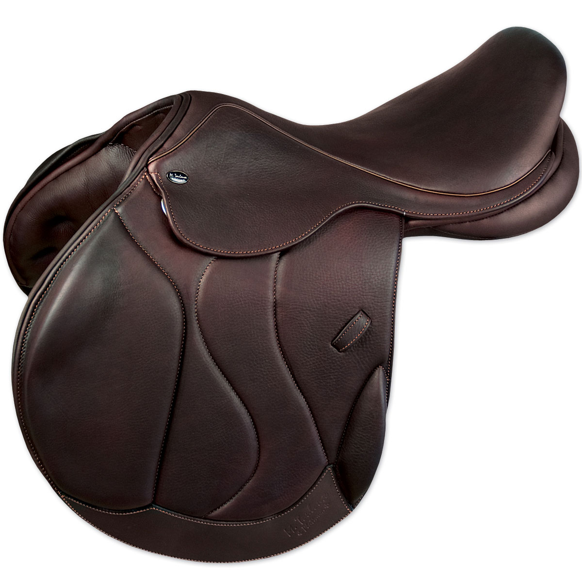 M. Toulouse Marielle +4 Monoflap Eventing Saddle with Genesis System
