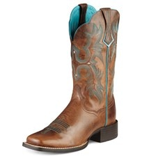 Ariat® Women's Tombstone Boots- Sassy Brown