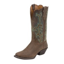 Justin Women's Stampede Sorrel Boot