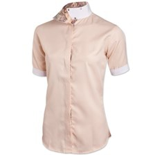 Royal Highness Coolmax Wrap Collar Short Sleeve Show Shirt