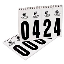 Spiral Bound Competition Number Packet