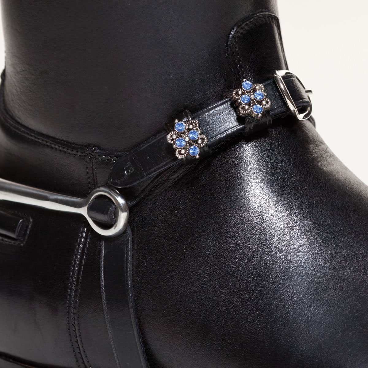 Spur Straps by Browbands with Bling