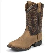 Justin Men's AQHA Q-Crepe Boots