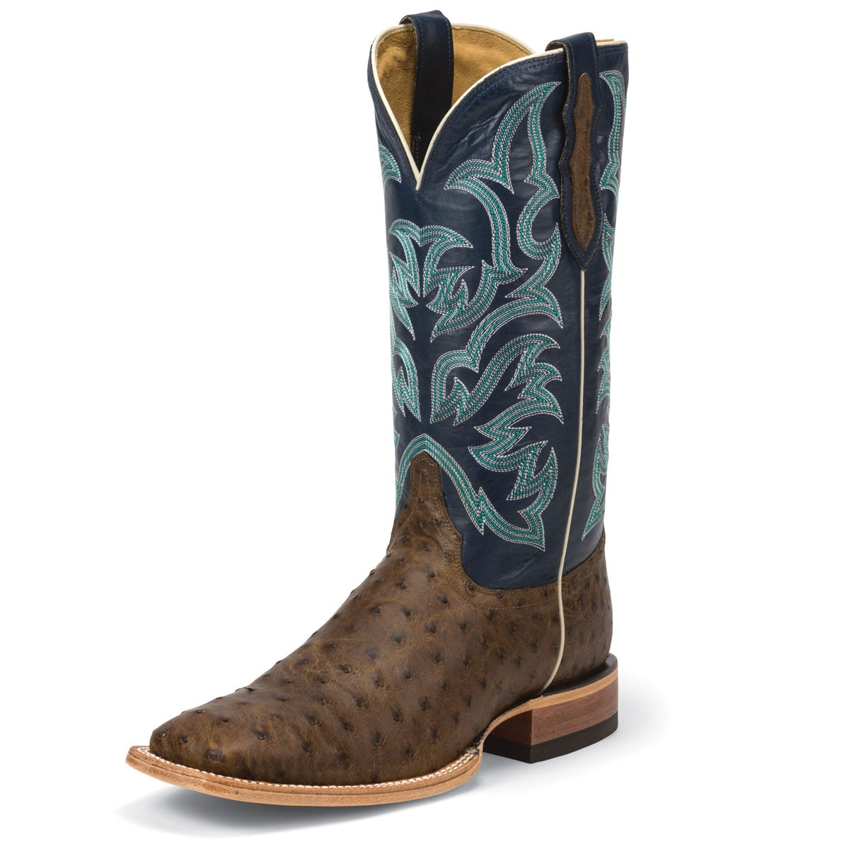 Justin Men's AQHA Ostrich Remuda Boots- Closeout!