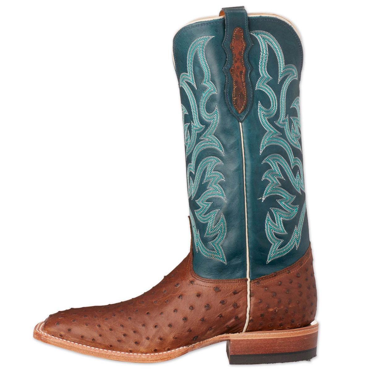 580fd41597c Justin Men's AQHA Ostrich Remuda Boots- Clearance!